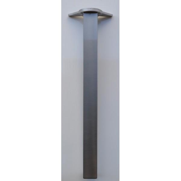 Πόδι Art 278 110cm τετράγωνο χρώμιο