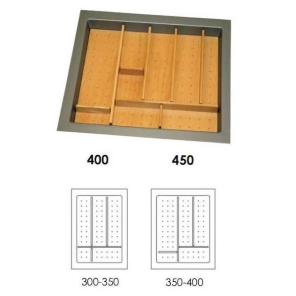 Κουταλοθήκη πλαστική-ξύλινη για 40cm κουτί
