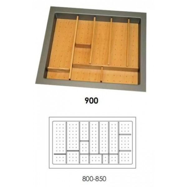 Κουταλοθήκη πλαστική-ξύλινη για 90Κ