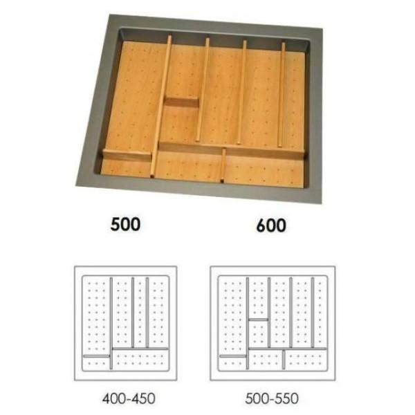 Κουταλοθήκη πλαστική-ξύλινη για 60Κ