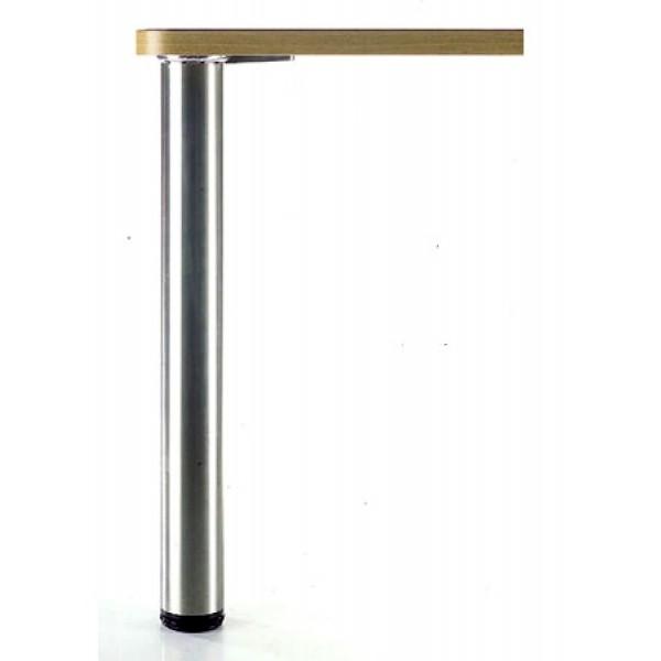 Πόδι Φ80 870 mm inox matt