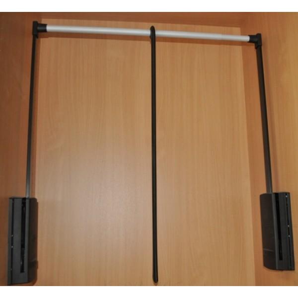 Ασανσέρ ντουλάπας SERVETTO 77/120 μαύρο