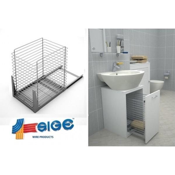 Καλάθι μπάνιου συρόμενο με φτερό 320 mm