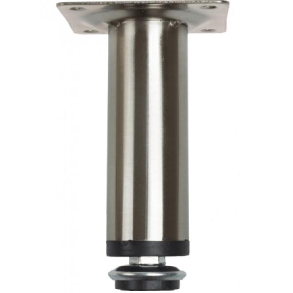 Ποδαράκι στρογγυλό Φ30 10cm inox matt