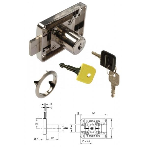 Κλειδαριά BMB FLEX ρυθμιζόμενη