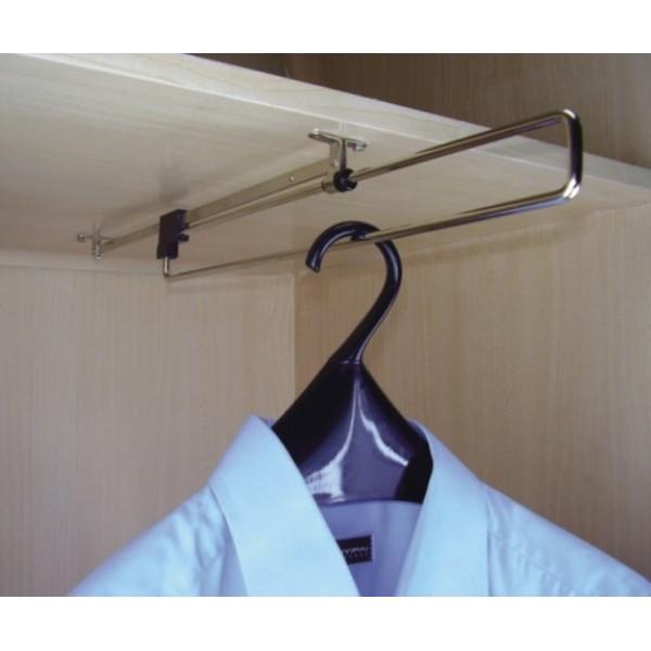 Κρεμάστρα συρόμενη οροφής ECO 400mm