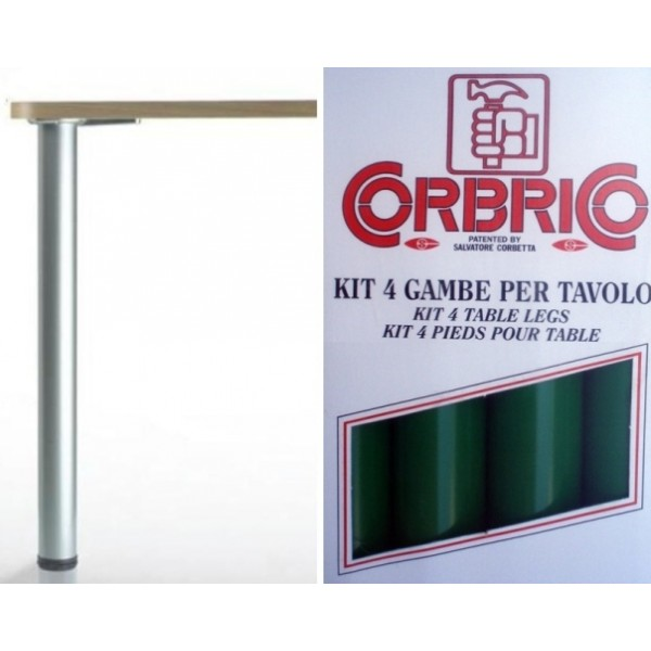 Πόδι Φ60 710 mm πράσινο