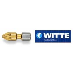 Μύτη βίδας WITTE τιτανίου PZ 2 25mm