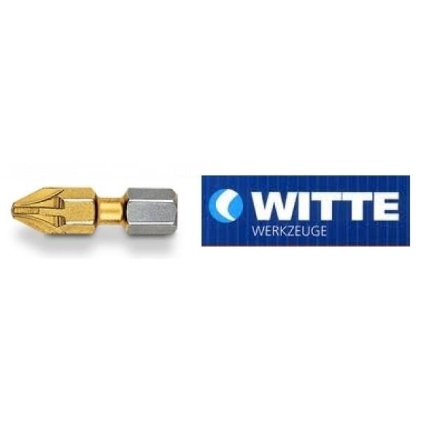 Μύτη βίδας WITTE τιτανίου PZ 1 25mm