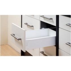 Μεταλλικό πλαϊνό metalbox Q-FIT 450x118 mm λευκό