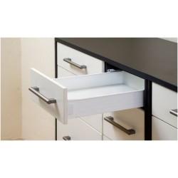 Μεταλλικό πλαϊνό metalbox Q-FIT 450x86 mm λευκό