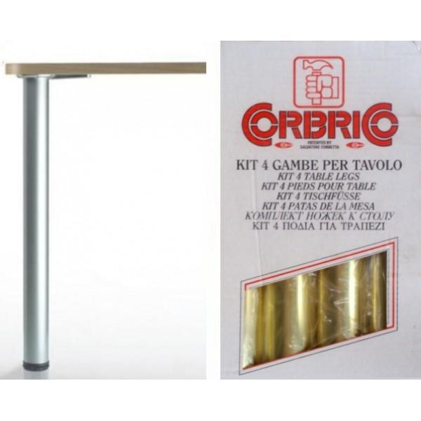 Πόδι Φ60 710 mm χρυσό