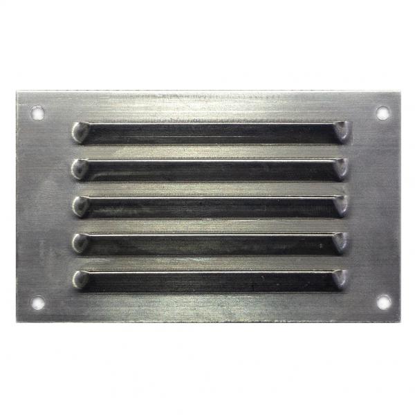 Περσίδα εξαερισμού μεταλλική 8.5x5 cm - ΑΣΗΜΙ