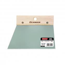 Σπάτουλα με ψιλό δόντι 200 mm Benman 70924