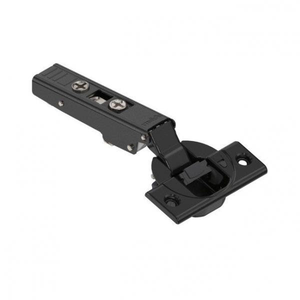 Μεντεσές BLUM clip top 110° με ενσωματωμένο φρένο ίσιος black onyx