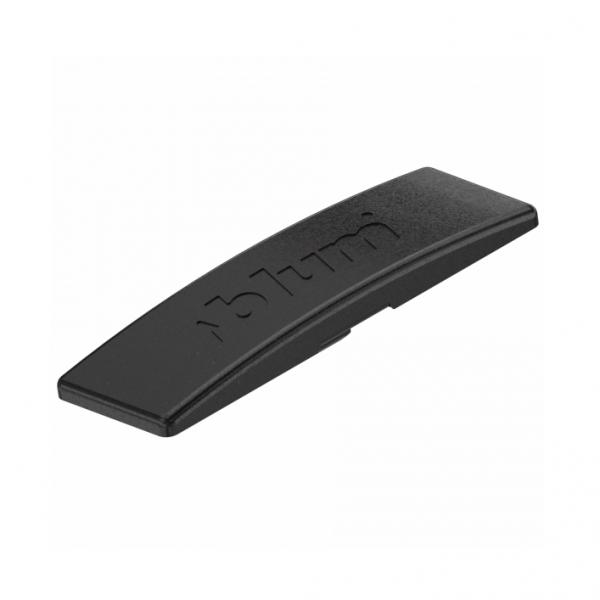 Κάλυμμα για σώμα μεντεσέ BLUM clip top με ενσωματωμένο φρένο ίσιο black onyx