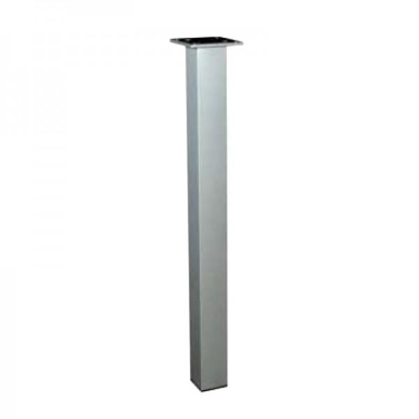 Πόδι Kubino τετράγωνο 60x60 710mm inox 304