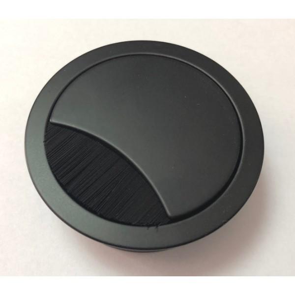 Ροζέτα καλωδίων BMB Ø60mm μαύρη matt