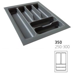 Κουταλοθήκη πλαστική για 35cm κουτί stone