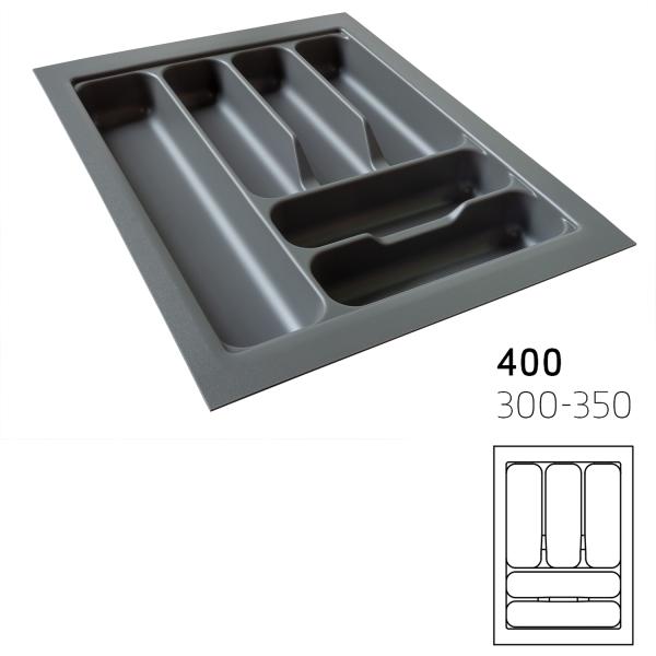 Κουταλοθήκη πλαστική για 40cm κουτί stone