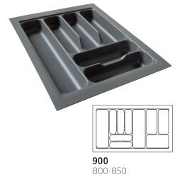 Κουταλοθήκη πλαστική για 90cm κουτί stone