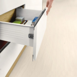 Μεταλλικό πλαϊνό metalbox DTC 500x150 mm λευκό