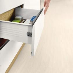 Μεταλλικό πλαϊνό metalbox DTC 500x118 mm λευκό