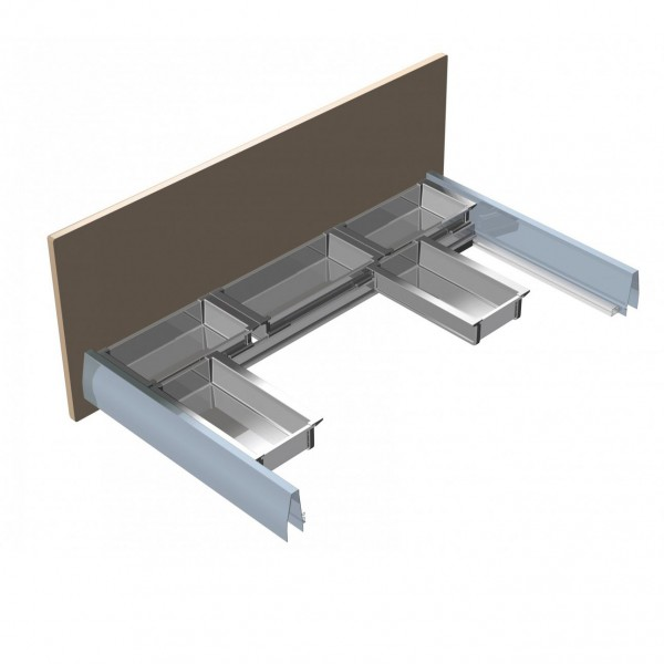 Σύστημα συρταριού για ερμάριο νεροχύτη ELLETIPI PBL C1A 09M18 AC10
