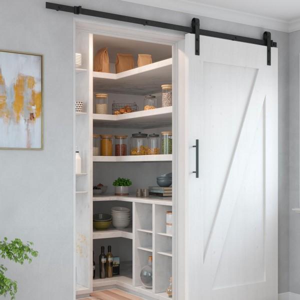 Μηχανισμός συρόμενης πόρτας αχυρώνα