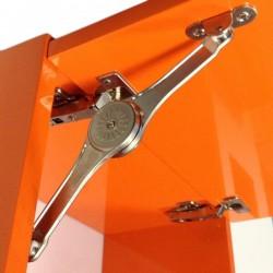 Κουμπάσο σπαστό Klok για ξύλινη πόρτα πάνω