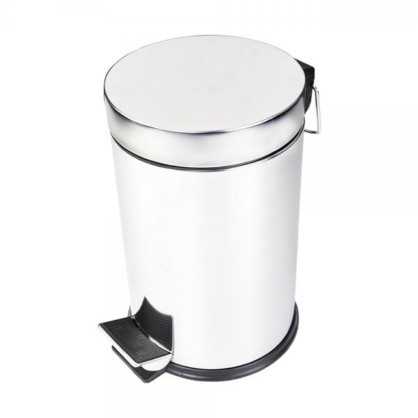 Δοχείο απορριμάτων με πεντάλ στρογγυλό 5L