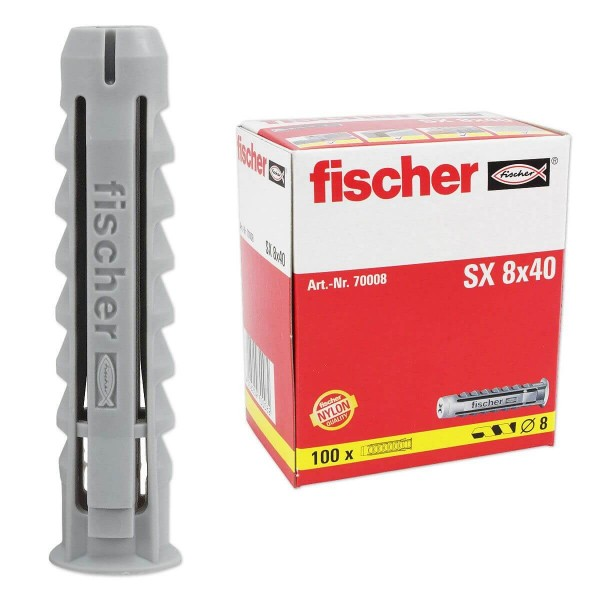 Fischer Βύσματα nylon SX 8x40mm