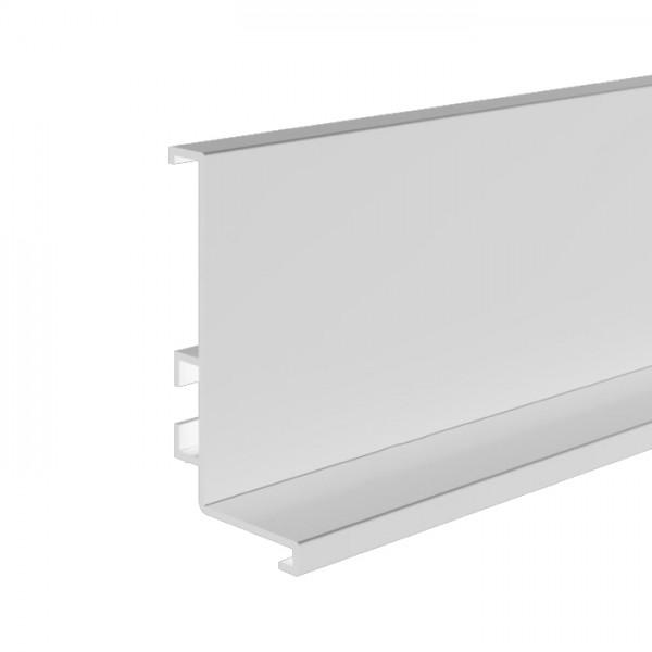 """Προφίλ αλουμινίου GOLA λευκό """"L"""" (πάνω) 410cm"""