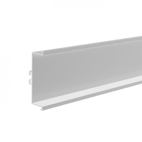 """Προφίλ αλουμινίου GOLA λευκό """"U"""" (μεσαίο) 410cm"""