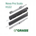 Συρτάρι με φρένο Nova Pro Scala GRASS 450x122 mm