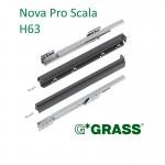 Συρτάρι με φρένο Nova Pro Scala GRASS 500x63 mm