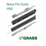 Συρτάρι με φρένο Nova Pro Scala GRASS 350x90 mm