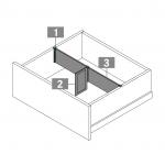 Tavinea optima συνδετικό διαχωριστικού (2τμχ) για Nova Pro Scala stone
