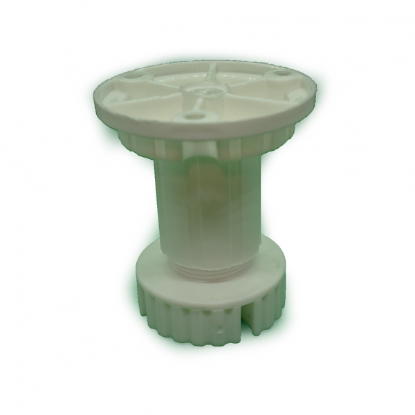 Ποδαράκι πλαστικό Ø30 mm μήκους 7 cm, με ρεγουλατόρο