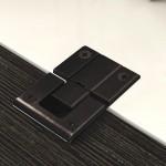 Μεντεσές ακραίος Kimana Ø26mm μαύρος