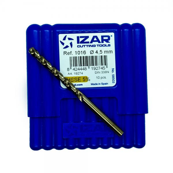 IZAR Τρυπάνι ΗSSE 5%Co 4.5mm