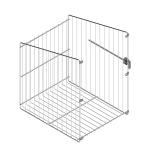 Καλάθι μπάνιου MC ανακλινόμενο για 60cm κουτί
