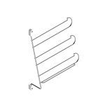 Γραβατοθήκη-ζωνοθήκη MC πλαϊνού
