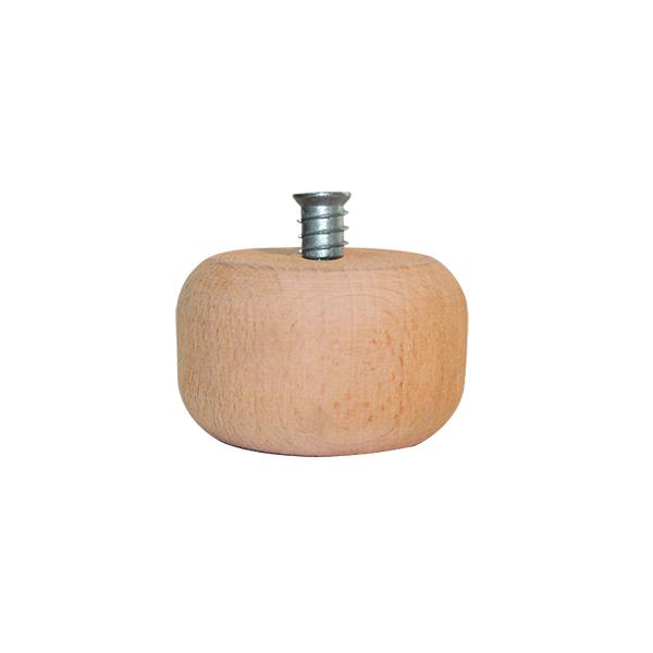 Πόδι ξύλινο οξυά Νο 115 45mm