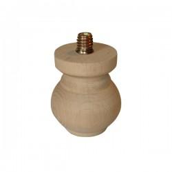 Πόδι ξύλινο οξυά Νο 117 80mm