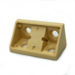 Γωνία σύνδεσης πλαστική με καπάκι