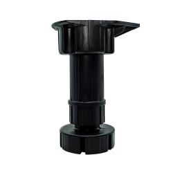 Ποδαράκι πλαστικό διαιρούμενο Ø30 mm με ρεγουλατόρο μήκους 10-14 cm