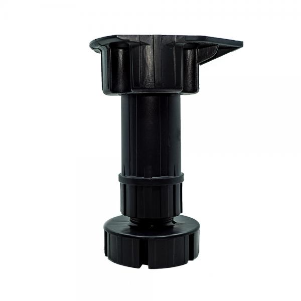 Ποδαράκι πλαστικό διαιρούμενο Ø30 mm με ρεγουλατόρο μήκους 12-17 cm