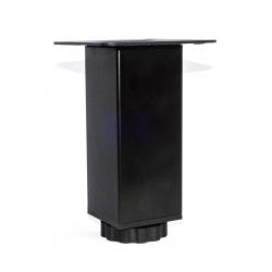 Ποδαράκι μεταλλικό Α111 10cm Μαύρο