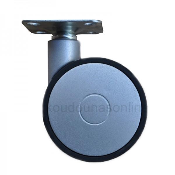 Ρόδα επίπλων G016 Ø62mm